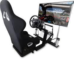 siege volant pc prosimu support tv achat siège de simulation sur materiel