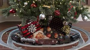 Thomas Kinkade Christmas Tree Train by Train On Christmas Tree Christmas Lights Decoration