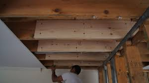 Hanging Drywall On Ceiling Joists by This Wall Is Coming Down U2013 Demo U0026 Installation U2013 Hams At Home