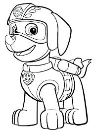 Paw Patrol Coloring Page Sheets Awesome Pages For Top Ryder Marshall Colo