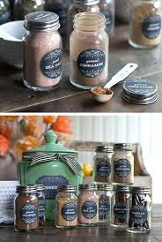 Mason Jar Kitchen Decor Go Farmhouse With These Herb And Spice Labels Click Pic For
