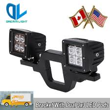 OFF-ROAD 4X4 TRUCK SUV Tow Hitch Dual Reverse Backup Lamp Light ...
