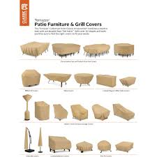 Sams Patio Furniture Covers by Classic Accessories Terrazzo Stackable Patio Chair Cover All