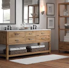 Cool Bathroom Vanity Mix Of Rustic And Modern Just Need To Find One With