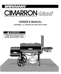 Brinkmann Electric Patio Grill Manual by Search Barbecues User Manuals Manualsonline Com