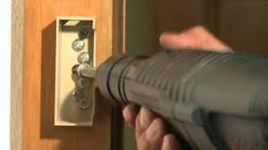 barre securite porte entree barre de sécurité