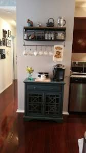Finally Made My Own Coffee Tea Station Shelf Is From Hobby Lobby Cabinet TJ Maxx Homegoods Store