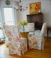 Living Room Chair Covers by Dining Room Chair Slipcovers Long How To Get The Best Dining