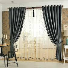 Target Velvet Blackout Curtains by Signature Silver Grey Blackout Velvet Curtains Drapes Half Price