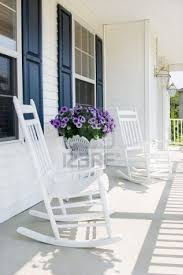 Front Porch And White Rocking Chairs :) | House And Furniture Ideas ...