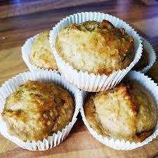 bananen haferflocken apfelmus muffins für kleinkinder