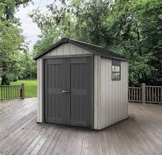 Keter Manor Shed Grey by Plastic Shed 7 7 U2013 Quality Plastic Sheds Quality Plastic Sheds