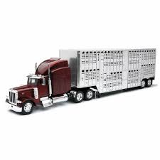Peterbilt 379 Livestock Truck - 1:32 Scale By Newray Long Haul Trucker Newray Toys Ca Inc Truck New Ray 132 Peterbilt 389 Cab Toy For Kids Youtube Company Limited Newray 25 Diecast Mini Novelty Model Collection Kevin Windham Ultimate Set 10 700 Off Revzilla Blue Plastic Transporter Towing Buy Intertional Lonestar Dump Diecast Scale Man Tga Artic Fridge Trailer A Mans World 143 Cattle Ranch With Barn Big R Stores 1923 Chevrolet Series D 1ton By Tow Custom Strobe Lights