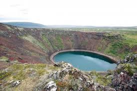 Reykjavik Iceland An Explosion Crater