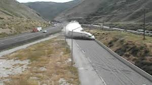 Check Out Massive Truck Getting Saved By Runaway Ramp - YouTube Runaway Truck Ramp About Trucking Jobs Blog Road Sign Runaway Truck Ramp Forest Stock Photo Edit Now 661650523 Roaming Rita Ramps Video Watch A Semi Slide Into Grapevine Kernam Truck Escape Ramps Semi Hauling Beer Rolls Off Cbs Denver Photos Images New Teton Pass Arrestor Works Saves Vehicle The Speed Killers Aoevolution Tales Of The Moose And Caboose Closed