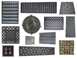 Used Floor Furnace Grates by Cast Iron Floor Grilles Floor Grilles Heating Covers