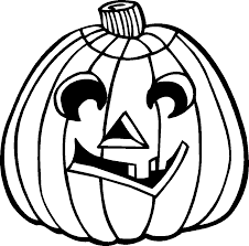 Scary Halloween Pumpkin Coloring Pages by Scary Halloween Images For Kids Clip Art Black U0026 White To Color