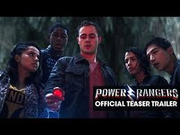 Power Rangers 2017 Movie Official Teaser Trailer Discover The