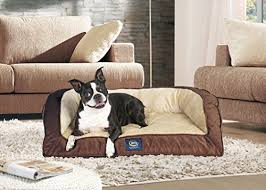 serta orthopedic quilted couch large mocha the pet furniture store