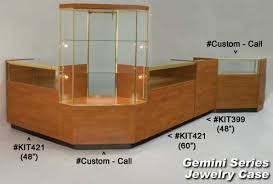 Gemini Jewelry Display Cases Showcases Counters Palay
