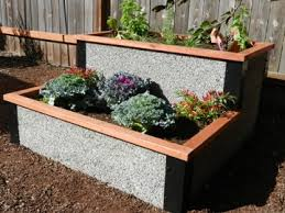 4 x4 Tiered Raised Planter Box by Durable GreenBed Kit