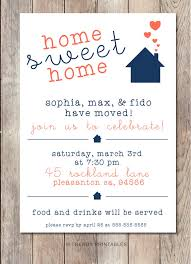 Housewarming Party Invitation Printable Home Sweet Our New Modern Invite 69