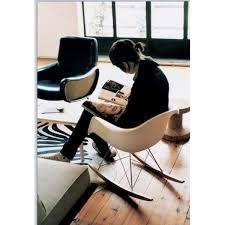 chaise a bascule eames chaise à bascule eames rar 1950 vitra charles eames boutique