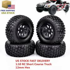 100 Slash Rc Truck 4X RC Short Course 12mm Hex TiresWheel 107mm For TRAXXAS