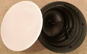 Angled In Ceiling Surround Speakers by Goldenear Invisa Htr 7000 In Ceiling Speakers Review