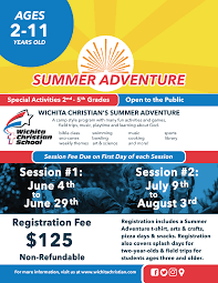 Join Us For An Adventure This Summer As We Provide A Loving Safe Spiritual And Educational Environment Children Ages 2 11 Our Program Provides