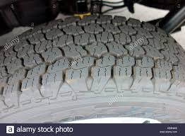 100 Goodyear Wrangler Truck Tires The Tread On A Truck Or Suv Tire Stock Photo
