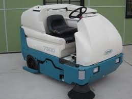 refurbished tennant 7300 riding floor scrubber psjanitorial com