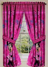 Minnie Mouse Bedroom Accessories by Minnie Mouse Curtains Ebay