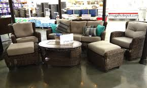 Kirkland Brand Patio Furniture by Costco Kirkland Signature Braeburn 6 Pc Seating Frugal Hotspot