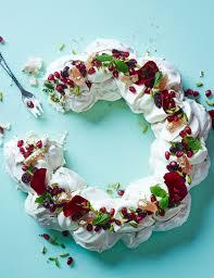 Christmas Tree Meringues Tesco by Nigella Lawson U0027s Chocolate Raspberry Pavlova Recipe Pavlova