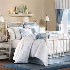 Bedroom Ideas Wonderful Brown Wooden Floor Complete Small White Bedside Tables 2017 New Charming Idea Using Iron Bed Frame Combine
