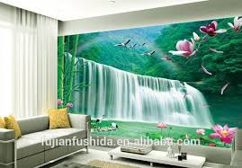 2016 Top Selling Wall Art Large 3d Paintings Bedroom Photo Murals Wallpaper