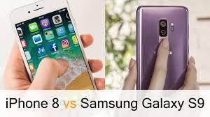 iPhone 8 vs Samsung Galaxy S9 Macworld UK