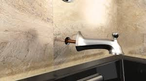 Kohler Mistos Faucet Chrome by Installation Elliston Bath And Shower Faucet Youtube