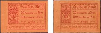 100 Hk Mark 24 Stamp Auction German Empire German Empire Setenants Auction
