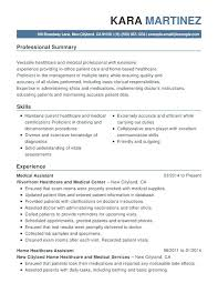 Healthcare Resume Examples Medical Functional Resumes Objective For Administration