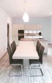 cuisine moderne et design cuisine moderne et équipée tons bleus et gris par gisèle