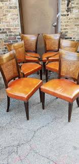 Vintage Six Baker Furniture Milling Road Cane Back Walnut Wood Leather Seat  Dining Chairs Set Of Four Ethan Allen Cane Back Ding Chairs Ebth Chair Fniture Outlet Atlanta Fair Eastgate Row Spokane Room French Provincial Cane Back Ding Chairs Thomasville Room Ideas Eight Mid Century Modern S8 Milo Baughman New Fabric Chrome Pair Vintage French Country Arm 2 Ideas On For Sale Au Uk Pwick Antiques English And Montgomery Alabama Fishmag
