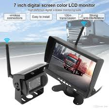 2018 7 Inch Wireless Backup Camera Rear View Camera System Hd Tft ... Chevrolet And Gmc Multicamera System For Factory Lcd Screen 5 Inch Gps Wireless Backup Camera Parking Sensor Monitor Rv Truck Backup Camera Monitor Kit For Busucksemitrailerbox Ebay Cheap Rearview Find Deals On Pyle Plcm39frv On The Road Cameras Dash Cams Builtin Ir Night Vision Rear View Back Up Amazoncom Cisno 7 Tft Car And Mirror Carvehicletruck Hd 1920 New Update Digital Yuwei System 43