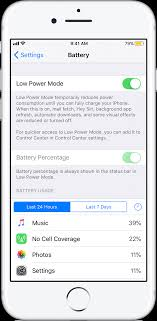 Use Low Power Mode to save battery life on your iPhone Apple Support
