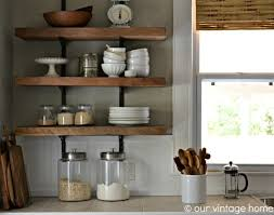 Kitchen Cool Rustic Wood Shelves Photo Design Ideas Wall Mounted Shelving Stunning Pictures Decoration Inspiration Stainless Steel Mount Black