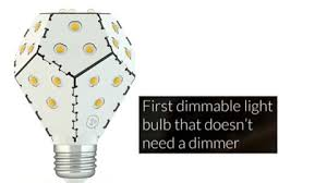 the world s most energy efficient light bulb now dims without a