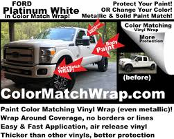 100 Ford Truck Colors Color Match Wrap OEM Auto Motorcycle Paint Color Matching Vinyl