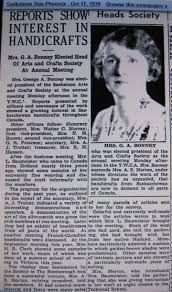 1939 1940 Mrs G A Bonney