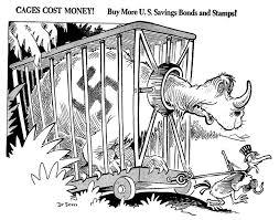 Seusss World War II Political Propaganda Cartoons